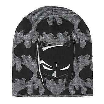 Child Hat Batman Black