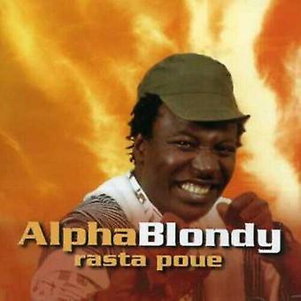 Alpha Blondy Rasta Poue CD