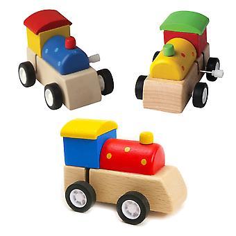 Yksi puinen tuulijuna - Lasten lelulahja