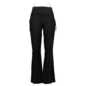 Kvinder med Control Kvinders Bukser Regelmæssig Sort A393904