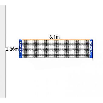 Portable Badminton Net Set - Til tennis, fodbold tennis, Pickleball(3.1m)