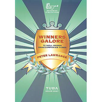Winners Galore Tuba Bass Clef with CD - Lawrance (Tuba with CD)