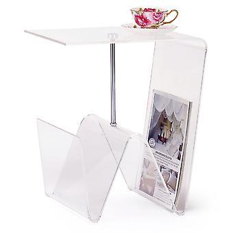 Stolik kawowy DKD Home Decor Przezroczysty metal akrylowy (40 x 30 x 44 cm)