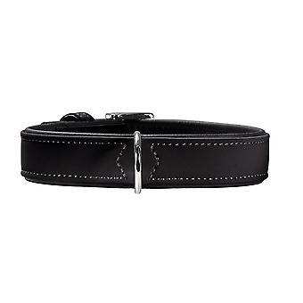 Pet leashes softie collar  medium  black