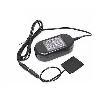 Dot.Foto reemplazo Sony Kit del adaptador de CA (AC-LS5 CA red eléctrica adaptador y DK-1N DC Coupler) - suministrado con cable de alimentación de 3 pines de UK para Sony Cyber-shot DSC-W570, DSC-W580, DSC-W610, DSC-W620, DSC-W630, DSC-W650, DSC-W690