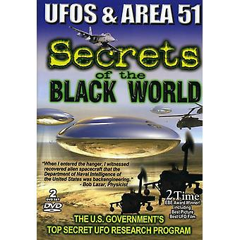 Ufos & Area 51-Secrets of the Black World [DVD] USA import