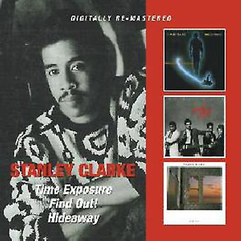Stanley Clarke - Time Exposure/Find Out!/Hideaway [CD] USA import