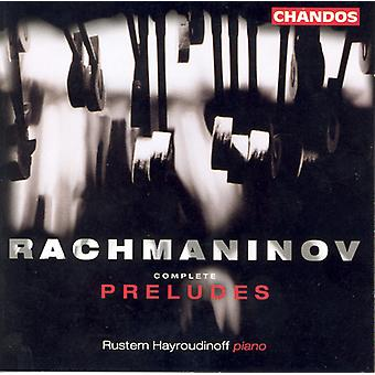 S. Rachmaninoff - Rachmaninov: Complete Preludes [CD] USA import