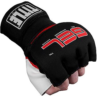 Title Boxing Gel Assault Training Glove Wraps - Black