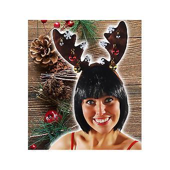 Haar Accessoires Rentier Kopfbedeckungen Luxus mit Weihnachtskugeln