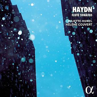 Haydn / Hurel, Juliette / Couvert, Helene - Haydn: Flute Sonatas [CD] USA import
