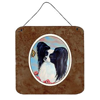Papillon Black and White Wall or Door Hanging Prints