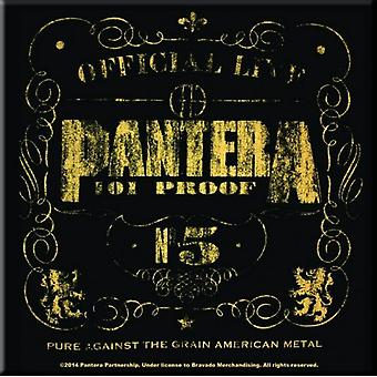 Pantera frigo Magnet 101 Proof bande logo nouveau officiel 76 x 76 mm