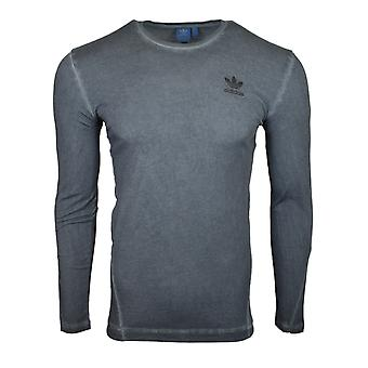 Adidas оригиналы улица современный серый Overdyed футболку AY9189