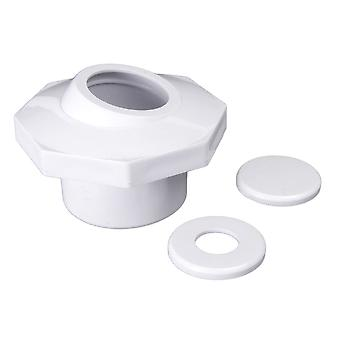 "Custom 25609-300-000 1.5"" Socket Inlet and Reducers - White"