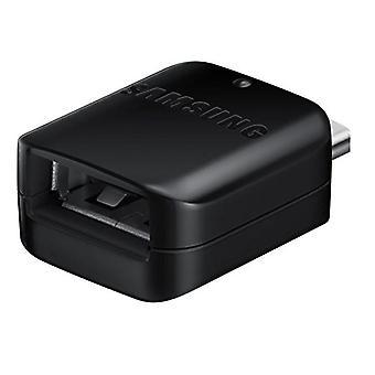 سامسونج GH98-41288A USB-C إلى محول USB OTG لS10 S9/S8 A9 ملاحظة 9 8 السائبة السوداء