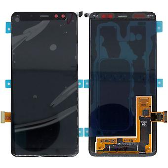 Samsung LCD полный дисплея для галактики A8 A530F 2018 GH97 21406A черный