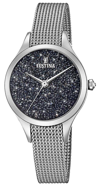 Festina Ladies With Swarovski Crystals Mesh Bracelet F20336/3 Watch
