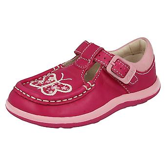 Girls Clarks Shoes with Butterfly Design Alana Star