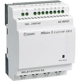 Crouzet 88974021 Millenium 3 Smart CB12 R PLC controller 24 V DC