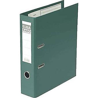 Elba Folder A4 Spine width: 80 mm Green 2 brackets 10497GN