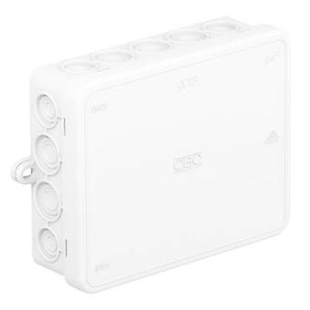 OBO Bettermann 2000422-W Junction box (L x W x H) 125 x 100 x 40 mm Pure white (RAL 9010) IP55 1 pc(s)