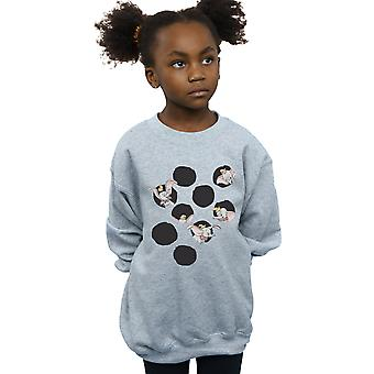Disney Girls Dumbo Peekaboo Sweatshirt