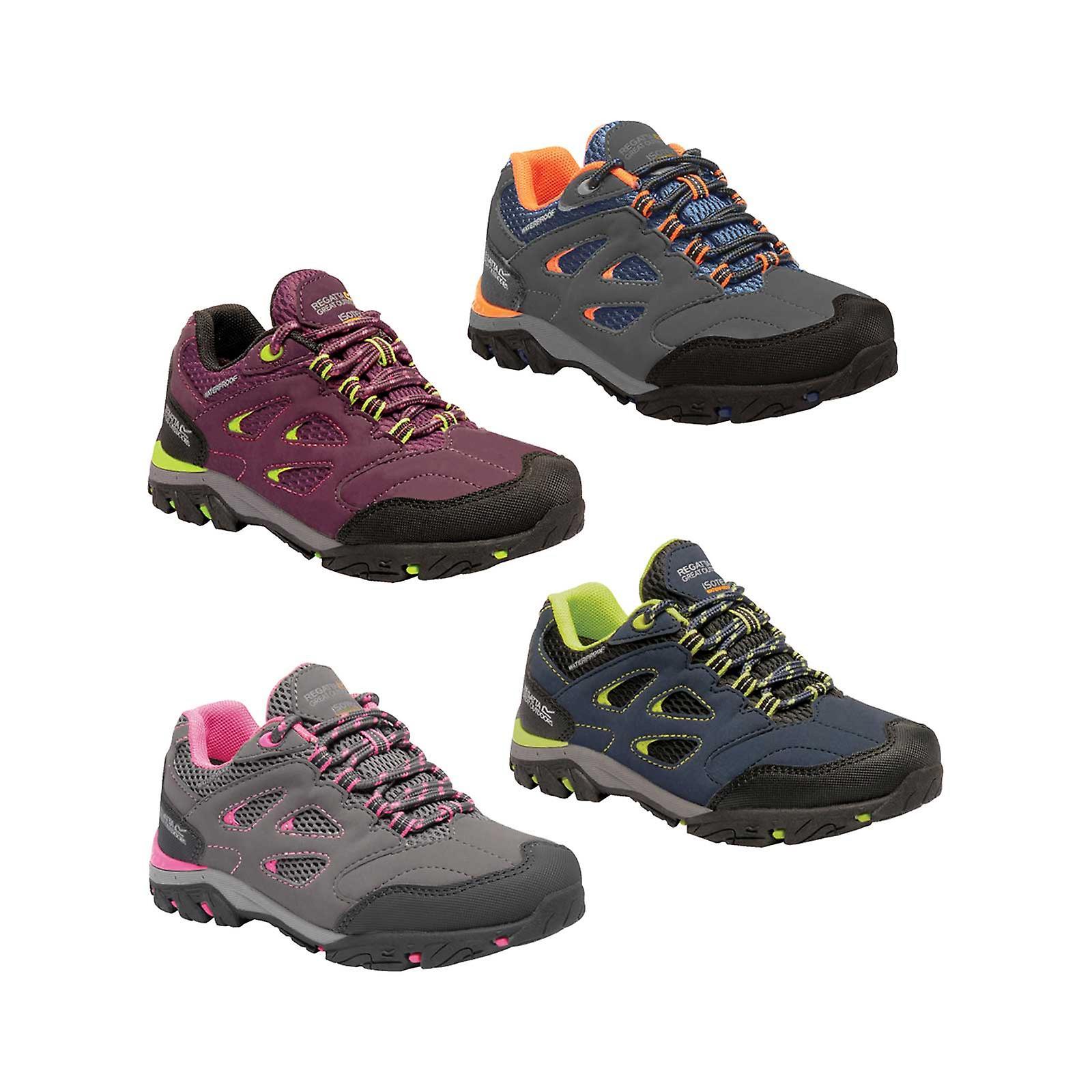 new styles fd5ea d3dcd Regatta Kinder Holcombe Low wasserdichte Schuhe
