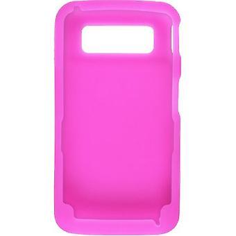 Draadloze oplossingen siliconen Gel bij Code van Samsung SCH-I220 - donker roze