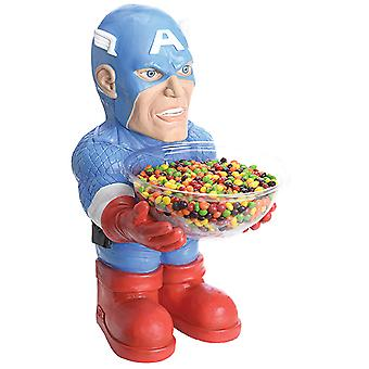 Captain America slik skål indehaveren halv statue 40 cm med skål