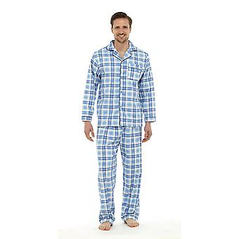 Tom Franks Mens periat bumbac verificate Pijama Lounge Wear