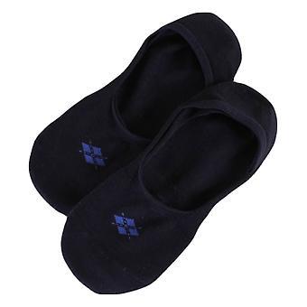 Burlington Everyday Invisible 2 Pack Socks - Navy