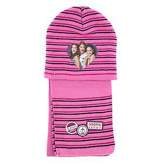 Disney Violetta Vinter Sæt Beanie Tørklæde