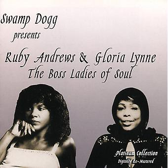 Andrews/Lynne - Swamp Dogg Presents the Boss Ladies of Soul [CD] USA import
