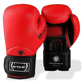 Ejecutante bytomic V4 guantes de boxeo rojo