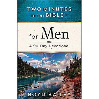 Två minuter i Bibeln för män: en 90-dagars Devotional