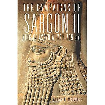 De campagnes van Sargon II, koning van Assyrië, 721-705 v.Chr. (campagnes en bevelhebbers)
