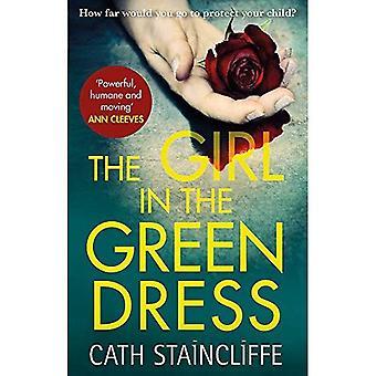 Het meisje in de groene jurk