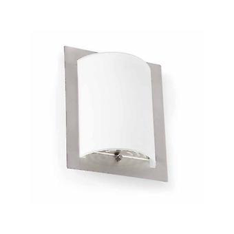 Faro - Diula Matt Nickel et verre mur 1-Light lumière FARO62987