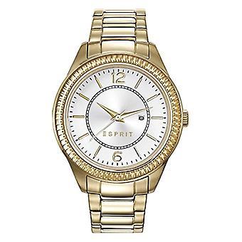 ESPRIT wristwatches, quartz Analog, female, stainless steel, gold (2)