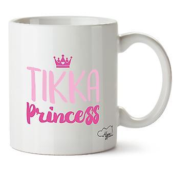 Princesa Hippowarehouse Tikka impresso caneca copo cerâmico 10oz