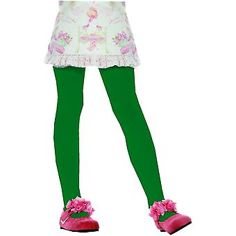 Collants verts enfant Sm