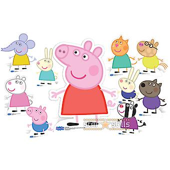 Peppa Pig and Friends Lifesize Cardboard Cutout / Standee Collection