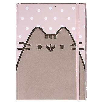 Pusheen Polka Dot Pink Flocked Cover Journal