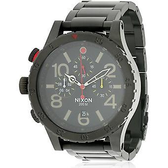 Nixon 48-20 Chrono All Black Watch A4861320
