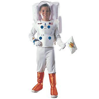 زي رائد الفضاء ناسا الفضاء رائد فضاء بدلة بيضاء موحدة دفتر الأسبوع الفتيان