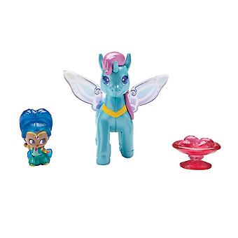 Shimmer And Shine Teenie Génie Pony Pack - Shine And Zahracorn