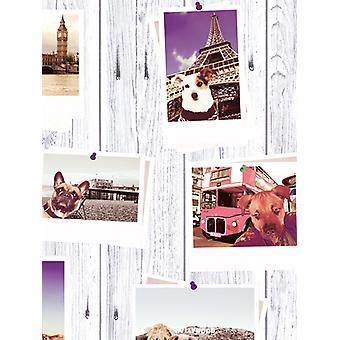 Selfie honden Landmark wallpaper Muriva 102558