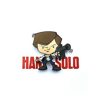 Star Wars mini 3D LED muur licht Han Solo