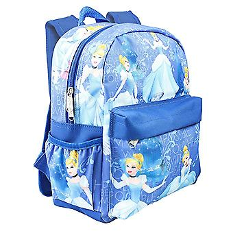 Small Backpack - Disney - Princess Cinderella Blue 12